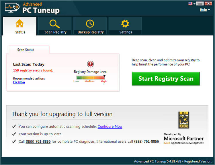 Advanced PC Tuneup